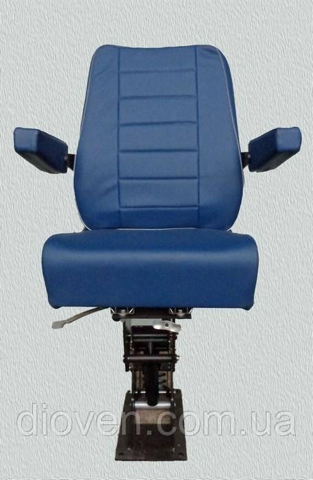 Кресло оператора (сиденье водителя) антивибрационное поворотное (Арт. КАП-2)