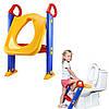 Детское сиденье на унитаз со ступенькой и ручками Childr Toilet Trainer, фото 6