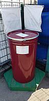 0205-28/1: С доставкой в Скала-Подольская ✦ Бочка (200 л.) б/у конусная металлическая, фото 1