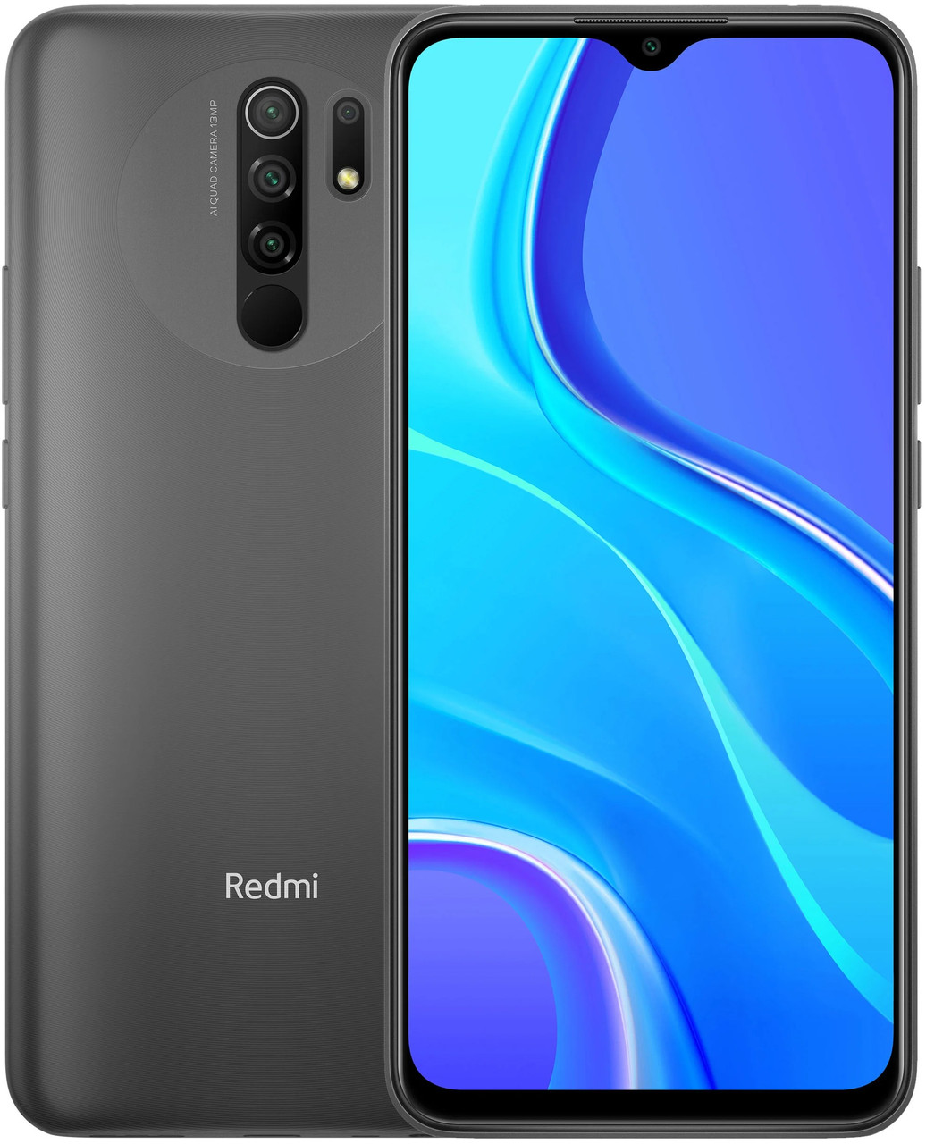 Xiaomi Redmi 9 4/64 Черный Global ( Международная версия )