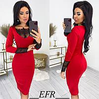 Платье женское в расцветках 80264, фото 1