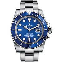 Часы Rolex Submariner 40mm (ETA 2834-2) Silver/Blue (Механика). Replica: AAA., фото 1