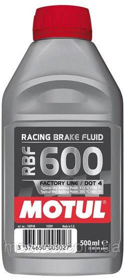 Тормозная жидкость для гидравлических тормозных приводов и сцеплений спортивной мототехники. MOTUL, 0,5 L