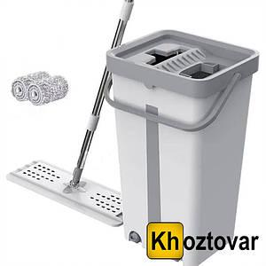 Швабра с отжимом Scratch Cleaning Mop