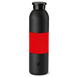 Оригинальная бутылочка для воды BMW M Motorsport Drinks Bottle, Black / Red (80232466312)