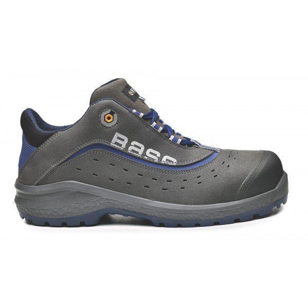 Защитные рабочие ботинки Base B0884 Be-Light, Серый/синий, 36