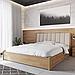 Кровать деревянная Токио 50 с подъемным механизмом односпальная массив бука, фото 3