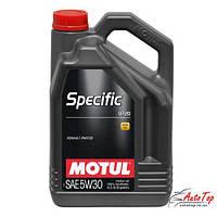 Моторное масло Motul SPECIFIC, 0720, RENAULT 5W-30 (5л)