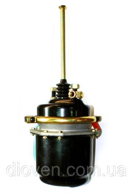 Энергоаккумулятор тип 30/30 цилиндр., окрашена камера торм. длин. шток КамАЗ, МАЗ, К. (Арт. 30.3519300)
