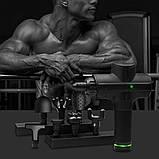 Портативный Массажный Пистолет Massage Gun, Перкуссионный Массажер для Тела 8 Насадок 9 Скоростей 24V, 5200 мA, фото 6