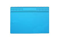 Термоизоляционный силиконовый коврик для ремонта телефона Sunshine SS-004A (250 x 350 mm) Blue