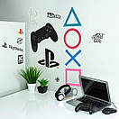 Картина настінна PlayStation Wall Decals (Paladone), фото 2
