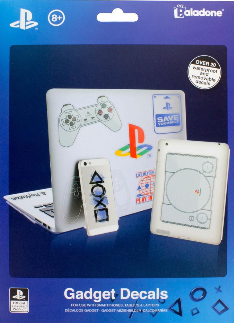 Комплект наліпок PlayStation для гаджетів (Paladone)