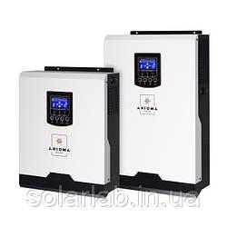 AXIOMA energy Гибридный ИБП 5000Вт, 48В + ШИМ контроллер 50А,  ISPWM 5000, AXIOMA energy