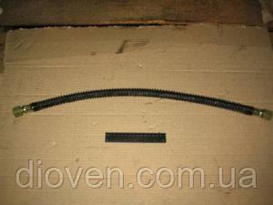 Шланг гальмівний МАЗ L=700мм (гайка М22х1,5 гайка М22х1,5) в обплетенні (вир-во Білорусь) (Арт. 5336-3506085-01)