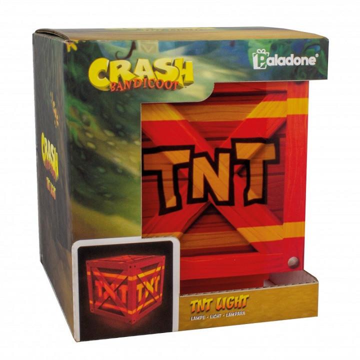 Світильник Crash Bandicoot TNT Light v2 (Paladone)