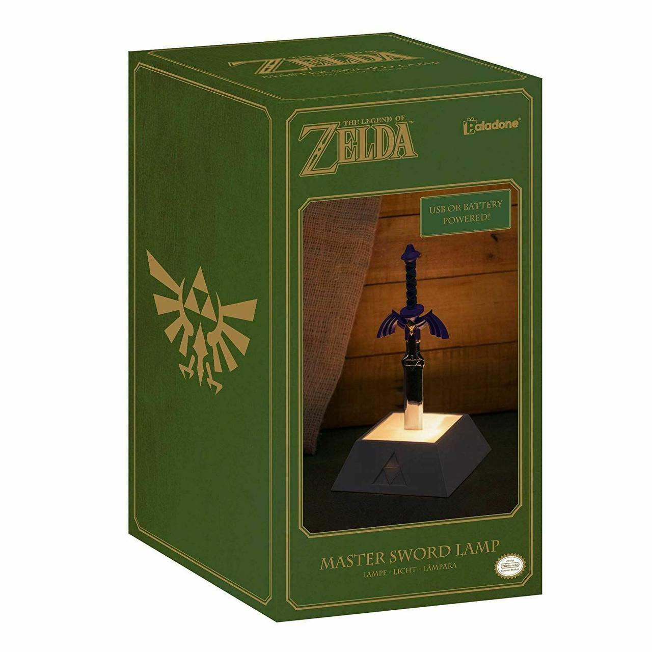 Світильник The Legend of Zelda Master Sword Lamp (Paladone)