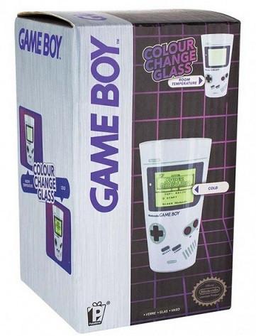 Стакан Nintendo Game Boy Colour Change Glass