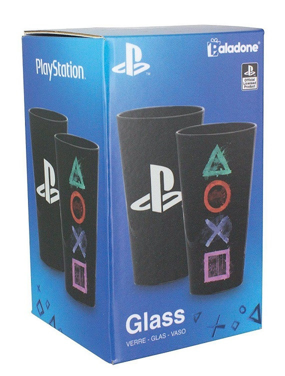 Стакан PlayStation Glass (Paladone)