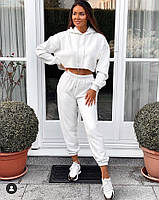 Спортивный костюм двунитка Белый, фото 1