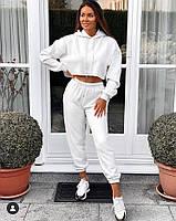 Спортивный костюм двунитка Белый