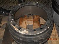 Барабан торм. МАЗ (бездиск. колеса) 12 шпилек +3 отв. направл. (пр-во Беларусь) (Арт. 5336-3501070-01)