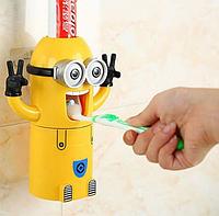 Автоматический детский дозатор зубной пасты Миньон (KG-2546)