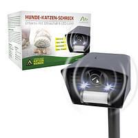 Ультразвуковой отпугиватель от собак Leaven Enterprise LS-987 New с ИК-датчиком и световым стробом