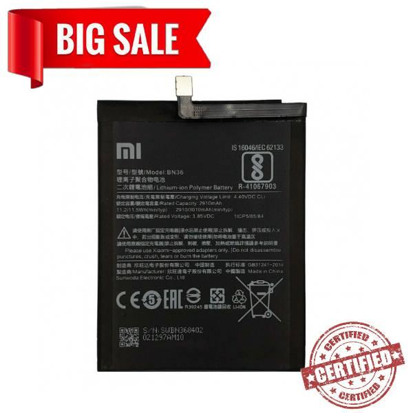 "Акумулятор ""Original"" Xiaomi BN36 Mi6X/MiA2"