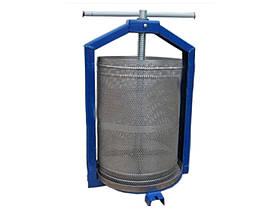 Прес для соку (15 л, нержавіючий кошик, заводське якість)