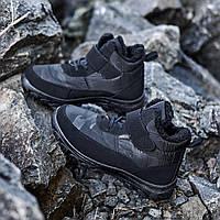 Чоловічі черевики зимові МА 07 чорні, фото 1