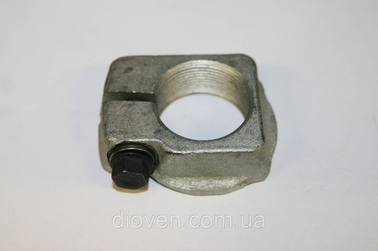 Гайка кулака поворотного М42 разрезная, болт М12, КРАЗ МАЗ (пр-во МАЗ) (Арт. 64221-3103076-10)