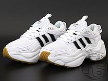 Жіночі кросівки Adidas Magmur White Black EE5139, фото 2