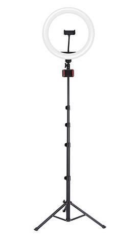 Лампа кольцевая с держателем JOYROOM JR-ZS228 Черный, фото 2