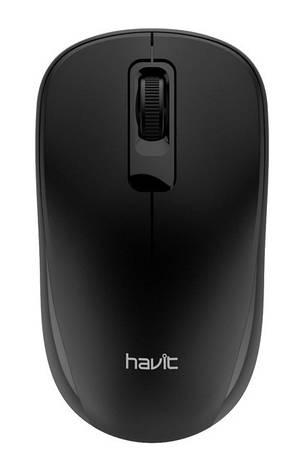 Мишка Havit HV-MS626GT Безпровідна Чорний, фото 2