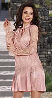 Красивое модное плиссированное платье № 4276