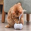 Игрушка для кошек USB smart с LED подсветкой, таймером и пером, фото 7