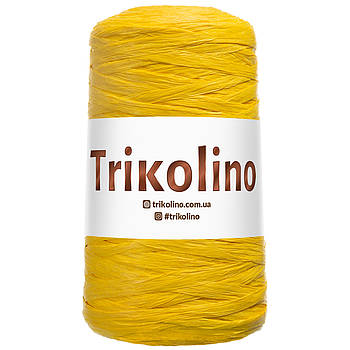 Рафия Natural 200 м. Желтый. Trikolino