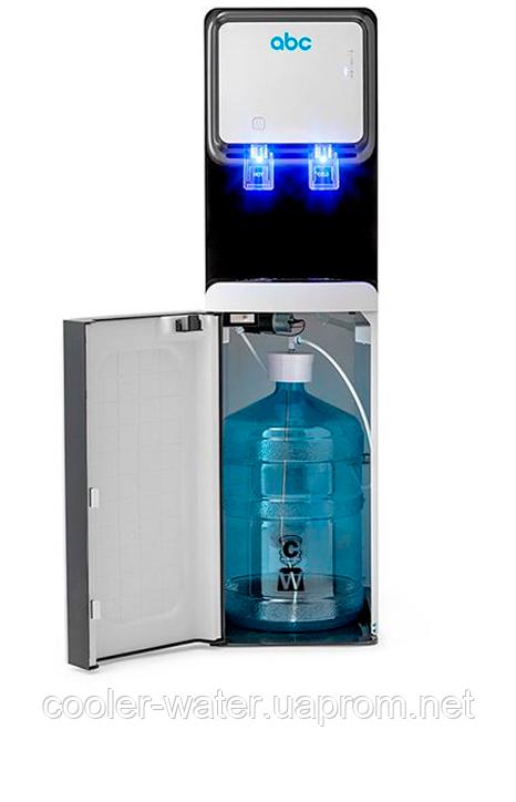 Кулер для води підлоговий з нижнім завантаженням ABC V800AE White