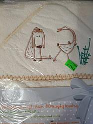 Полотенце для купания. Уголок Libra babies 95×95 см