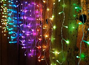 Гирлянда Smart новогодняя штора Icicle RGB+W 5x0.8м