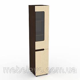 Книжный шкаф Стиль -24 П МДФ 1950х400х464мм    Компанит