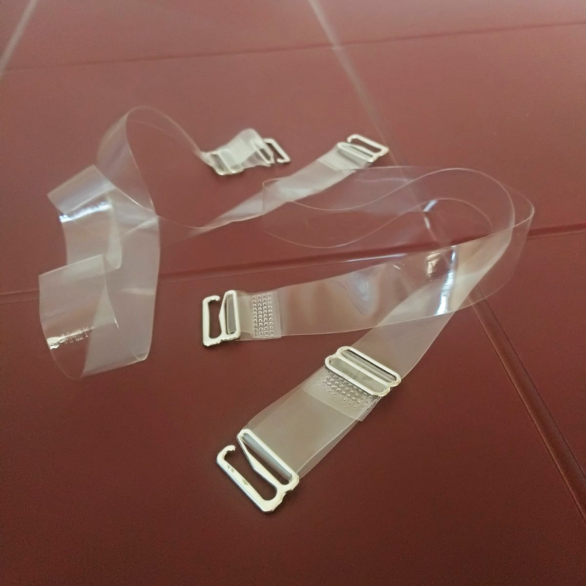 Бретельки силиконовые узкие для лифчика