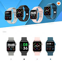 Бюджетный аналог знаменитого бренда умные часы KW37 + *Защитное стекло в подарок!