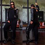 Спортивный костюм двойка кофта батник и штаны двухнить размер: 42-44, 44-46, фото 4