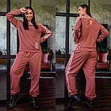 Спортивный костюм двойка кофта батник и штаны двухнить размер: 42-44, 44-46, фото 6