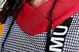 Женский брючный костюм двойка штаны и туника удлиненная сзади размер: 52, 54, 56 РАСПРОДАЖА!, фото 3