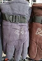 Перчатки мужские на флисе