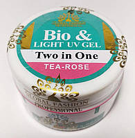 Био-гель для ногтей Global Fashion  Tea-Rose 15г