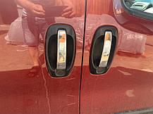 Накладки фирменные на ручки на 4 двери Citroen Nemo (8 шт) ОмсаЛайн Ситроен Немо, фото 3